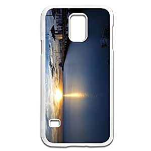 Samsung Galaxy S5 Cases Sunrise Design Hard Back Cover Shell Desgined By RRG2G