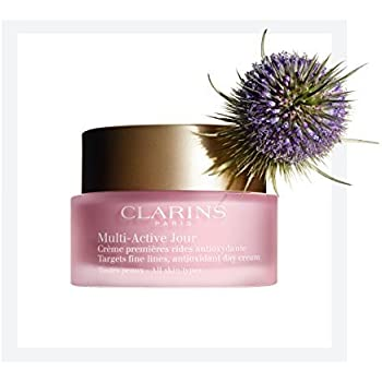Clarins Multi Active Jour Day Cream All Skin Types - 1.6 Ounces