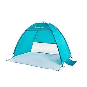 Alvantor Coolhut Beach Tent Beach Umbrella Outdoor Sun Shelter Cabana Automatic Pop Up UPF 50+ Sun shade Portable Camping Fishing Hiking Canopy Easy Setup Windproof (PATENT PENDING) 7014V 1 3 Person