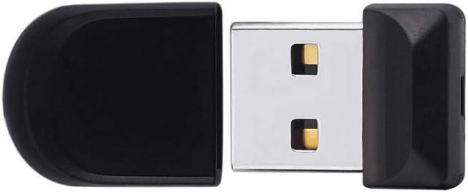 s Computers Accessories Mini USB 2.0 Flash Drive 4G//8G//16G//32G//64G Thumb Drive Plastic Read Speed 4-20MB Data Storage Black 10-11 Size : 4G