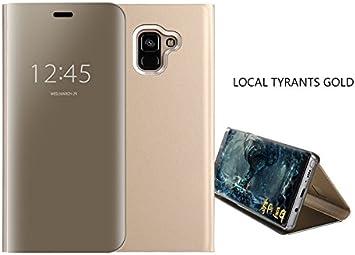 COVO® Funda para Samsung Galaxy A6 2018 Espejo Flip Case Espejo ...