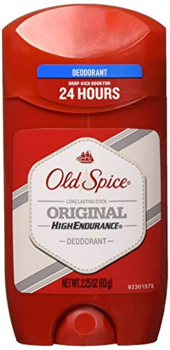 - Old Spice High Endurance Original Scent Men's Deodorant, 2.25 Oz (Pack of 6)