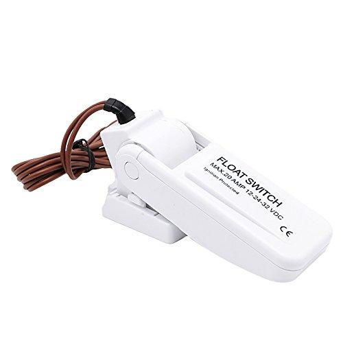 Interruptor de flotador eléctrico automático de 20 amperios, controlador de nivel DC12 V: Amazon.es: Hogar