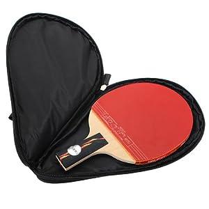 Tischtennis Schläger Klingeln Pong Paddel Schläger Tasche New