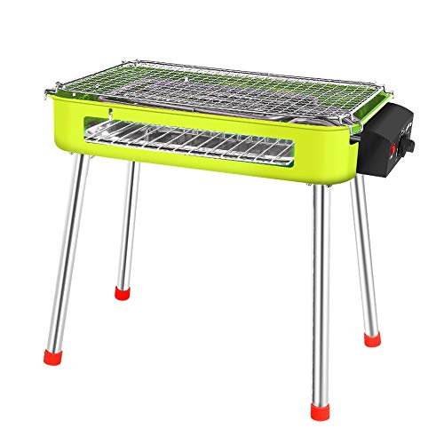 EAHKGmh Electric Grill Household Smokeless Electric Grill Dual-use Furnace Kebab Electric Barbecue Grill Machine