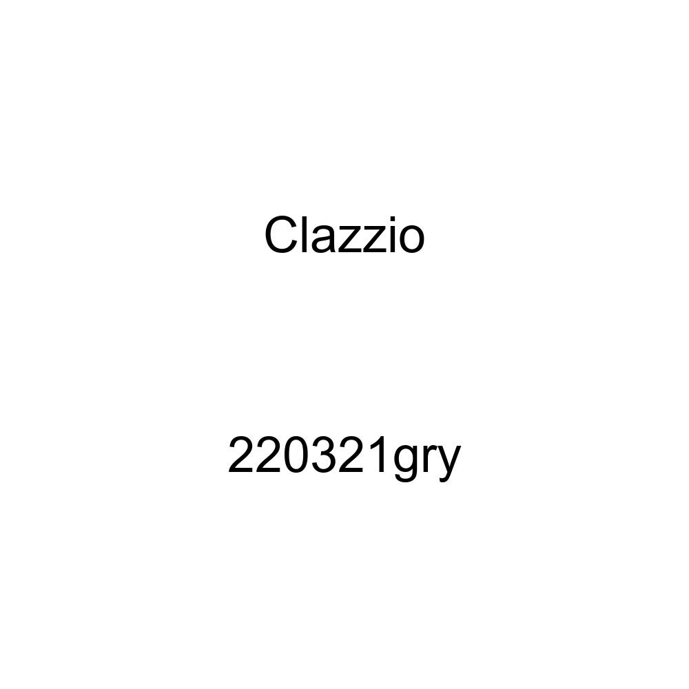 Clazzio 220321gry Grey Leather Front Row Seat Cover for Toyota Tundra Double Cab