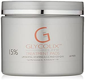 Glycolix Elite Treatment Pads 15%, 60 ct.