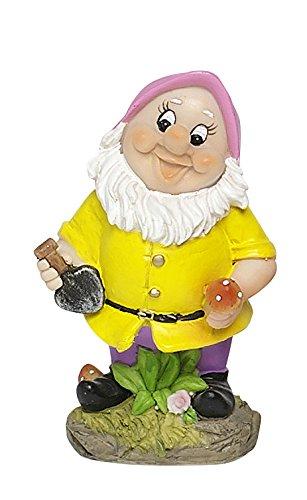 Edco 871125201799 14 x 8 cm PS 12ass Gnome - Multi-Colour