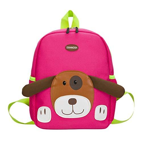 Cartoon Puppy Pattern School Backpack, SUPPION Baby Boys Girls Kids Bag Dog Pattern Cartoon Backpack Toddler School Bags (Hot -