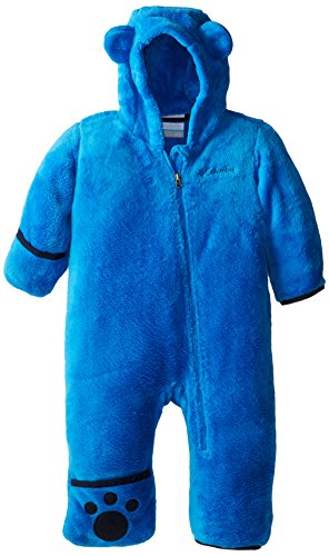 Columbia Baby Boys' Foxy Baby II Bunting, Hyper Blue/Collegiate Navy, 12-18 Months ()