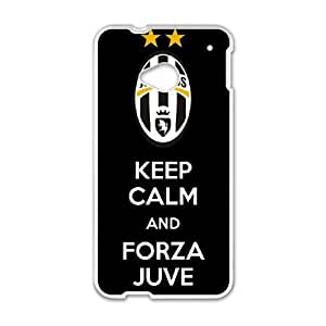 HTC One M7 Cell Phone Case White Juventus WUM Phone Case For Men Generic