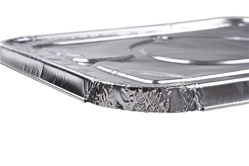 Mr. Miracle Half Size Foil Steam Lids - 30 Count by Mr Miracle (Image #3)