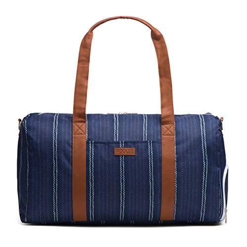 Roolee Travel Bag - Weekender Bag (Denim Blue)