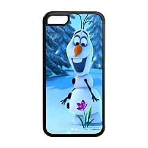 Customize Frozen Snowman Back Cover Case Suitable for iphone 5C JN5C-1257