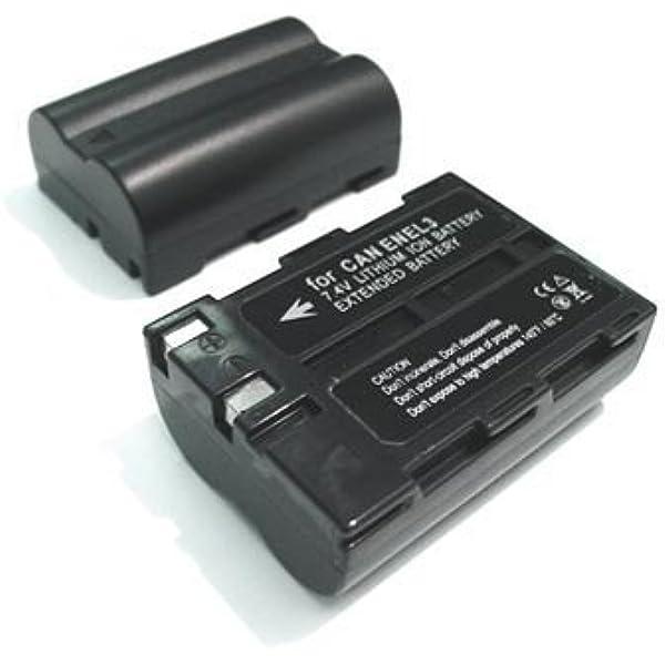 2X EN-EL3A Li-Ion Batería Para Nikon EN-EL3 EN-EL3e D50 D70 D70S D100