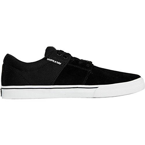 Supra - Zapatillas de Piel para hombre Negro - negro