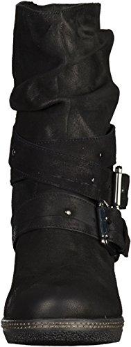 SPM - botines de caño bajo Mujer Negro - negro