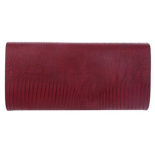 Texture Evening Blue Bag Womens Clasp Large Circle Damara Closure Formal xTnEw0