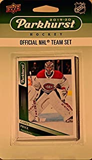 Montreal Canadiens 2019 2020 Upper Deck Factory Sealed 10 Card Team Set Including Carey Price, Max Domi and Sh