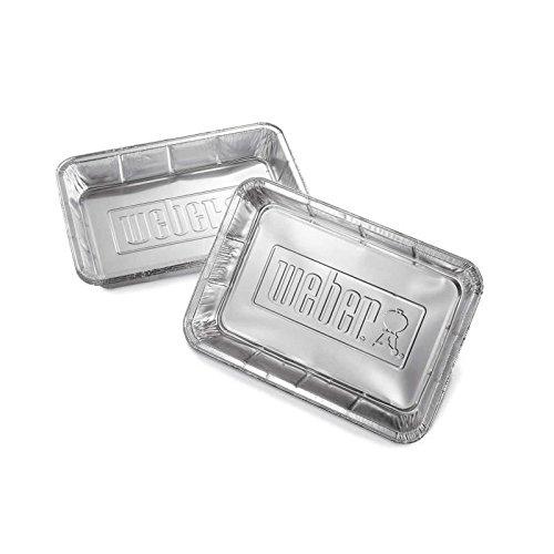 Weber barquettes en aluminium - 10 pieces 0077924074769