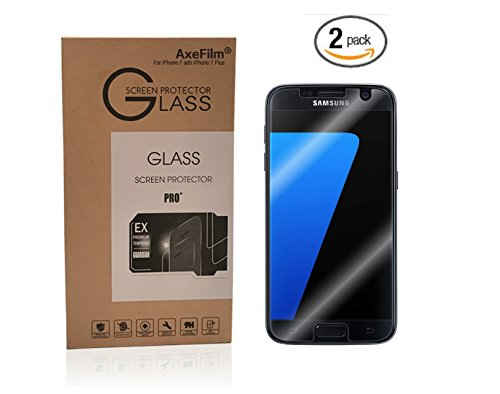two-pack-samsung-galaxy-s7-screen-protector-axefilm-samsung-galaxy-s7-tempered-glass-protector-025mm