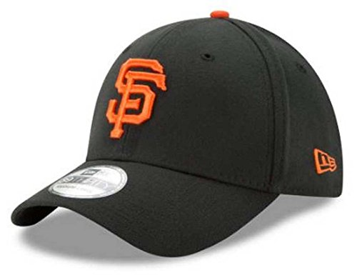 - New Era MLB San Francisco Giants Team Classic Game 39Thirty Stretch Fit Cap, Black, Large/X-Large