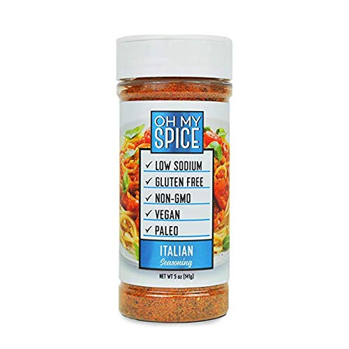 Italian Seasoning Low Sodium Keto Seasoning, Kick Your New Years Resolution Off Right, Perfect for People Looking for Paleo, Vegan, and Gluten-Free Seasoning for Their Meals