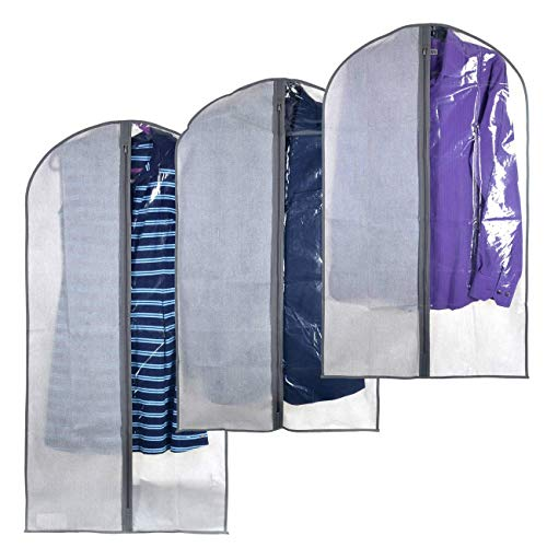 Perfect Garment Bags for Suits - Dress Suit Bag Set for Easy Storage or Travel (Rrl Bag)