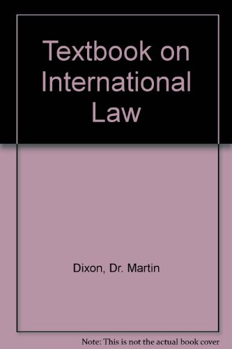 Textbook on International Law