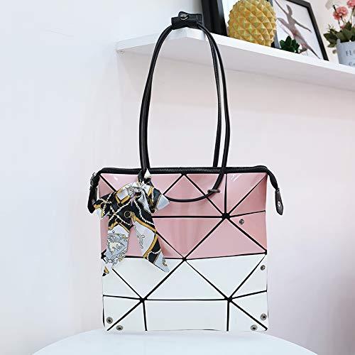 personnalité bandoulière Shoulder Bags Lingge Variety Sac à WSLMHH pour Sac Main géométrique à Sacs Main rose Sacs à Dames qBHWOxE