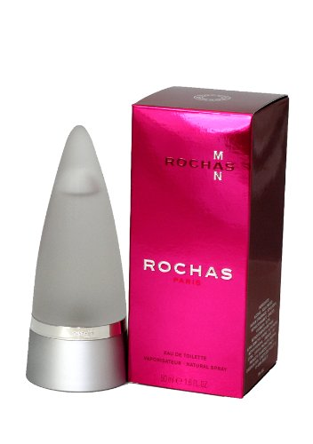 Rochas Man Cologne by Rochas for Men. Eau De Toilette Spray 1.7 Oz / 50 Ml.