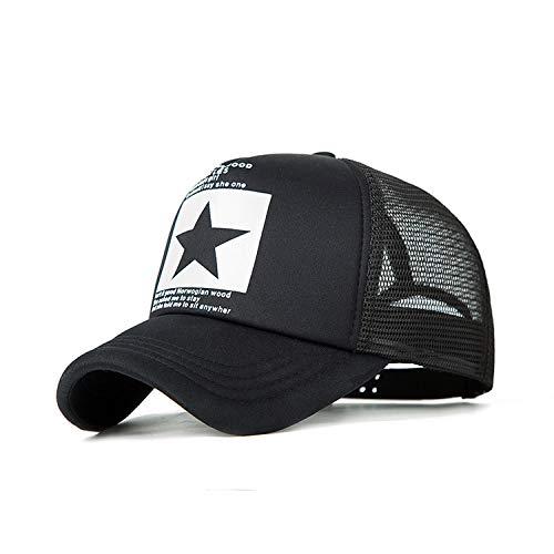 夏野球帽女性のメッシュ通気性のキャップユニセックス調節可能なスポーツ帽子,D