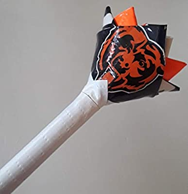 Chicago Bears NFL Duct Tape Flower
