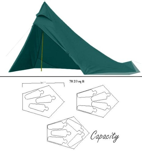 Appy Trails Mark V 4-5 Person Tent, Outdoor Stuffs