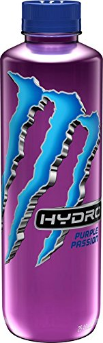 The Beast Monster Energy Hydro 25.4 ounce bottles (Purple Passion)