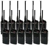 12 Pack of Motorola RDU4100 Two way Radio Walkie Talkies
