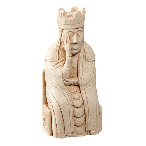 The Lewis Chessmen - QUEEN - Replica chess piece - 9cm - Lewis Chess Pieces