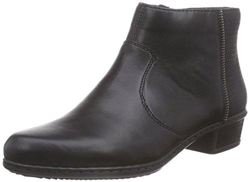 RiekerY0768 - botas Mujer Negro - Schwarz (schwarz/schwarz / 00)