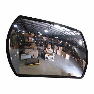 Grainger Approved Indoor/Outdoor Convex Mirror Rect