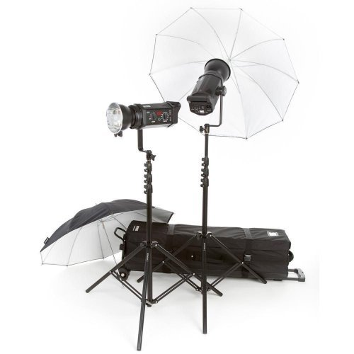 Bowens Gemini 500R 2 Light Umbrella Kit with Pulsar TX Radio Remote (Kit Umbrella Gemini)