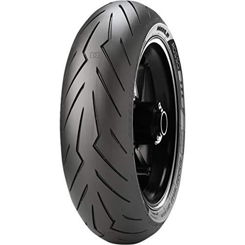 ( Pirelli Diablo Rosso 3 Rear Motorcycle Tire 180/55ZR-17 (73W) - Fits: Aprilia Caponord 1200 ABS 2014-2018)