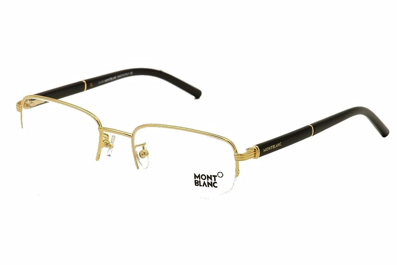 a9c1adb1efaa lovely Mont Blanc Men s Optical Frame Metal Non-Polarized Glasses 56 ...