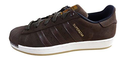 adidas Superstar Foundation Herren Sneakers braun/schwarz (DBROWN/DBROWN/CBLACK) S75539