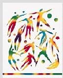 : Rainbow White Scratch-art 12 Sht
