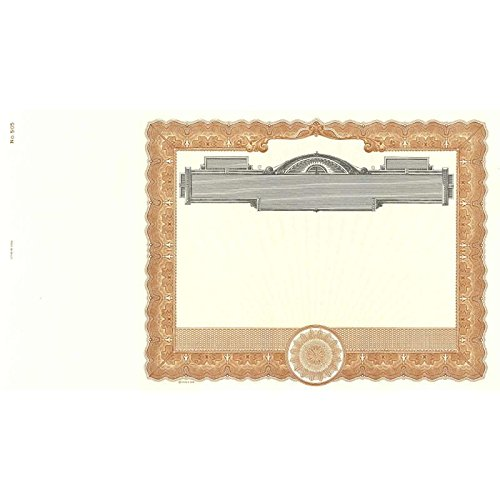 Goes 505 Certificate - Pack of 100 by Goes Litho