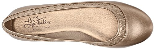 Lifestride Womens Native Flat Champagne