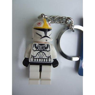 LEGO Star Wars Clone Pilot Keychain Key Chain 853039: Toys & Games