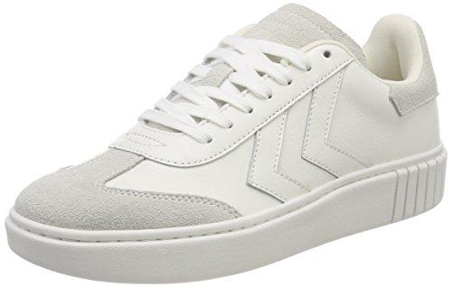 Hummel Damen Aarhus Classic Sneaker Bassa Weiß (bianco)
