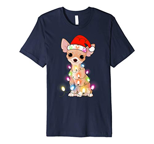 Chihuahua Christmas T-Shirt Gifts Cute Dog Lovers
