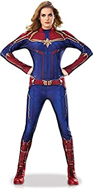 Rubie's Captain Marvel Hero Suit Adult Women's Sized Costumes As Shown Costum